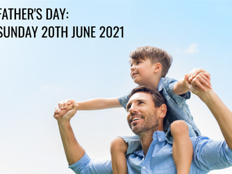 NEWSLETTER INSERT - FOR FATHER'S DAY