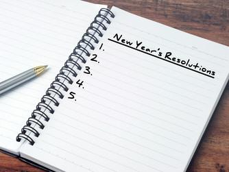 THREE NEW YEAR'S RESOLUTIONS