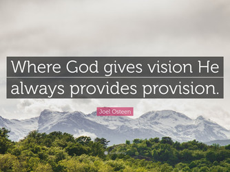 VISION AND PROVISION