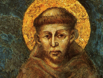 FEAST DAY OF ST FRANCIS OF ASSISI: 4TH OCTOBER