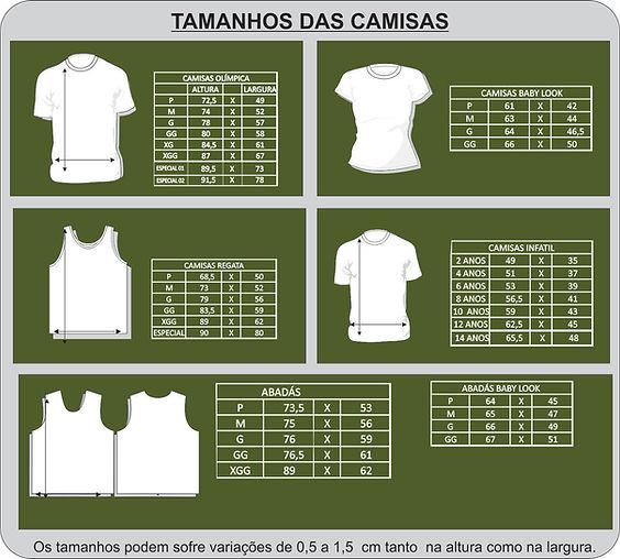 Camisa Malha Personlizada silkada em BH. Tamanhos de cmisas Basicas a4d6a673299