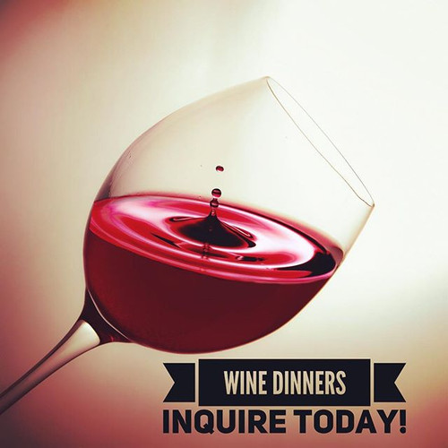 Join us for our next wine dinner! Check