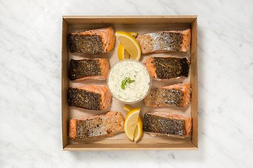 Smoked Salmon Box | 8 pieces