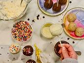 Vanilla Cake Pops by Alexandra Simon