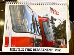 Melville Fire Department inMelville, NY.  100 calendars.