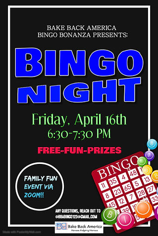 Copy of Purple Bingo Night Poster Templa