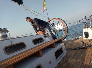 TOP SAILING MAXI  Gulliver 57 test
