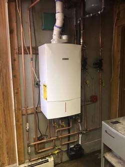 Combi Boiler   HVAC
