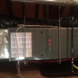 TRANE furnace   HVAC