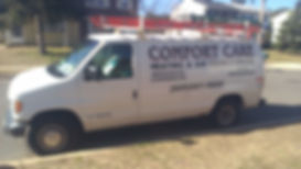Comfortcare Heating and Air old van.  HVAC at its best in ocean county New jersey