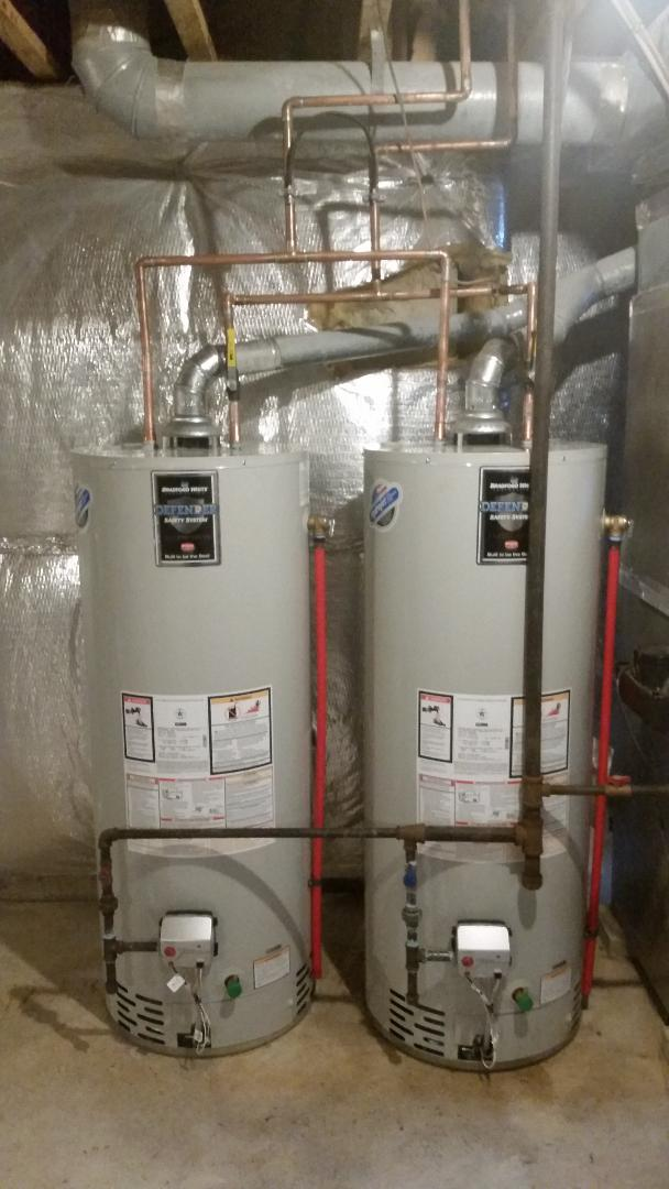 Water heaters 100Gal
