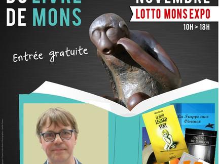 Olivier Papleux dédicace à Mon's Livre 2019