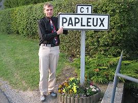 Olivier Papleux à Papleux