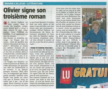 Journal La Capitale Olivier Papleux