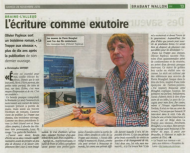 Journal l Avenir - Olivier Papleux