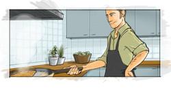 El que cocina no limpia!, canté!