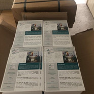 The new marketing leaftet have arrived