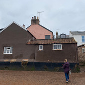 Rainy site visit in Lympstone