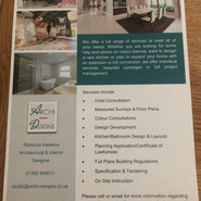 Marketing leaflet - Reverse