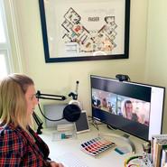 Online client consultations