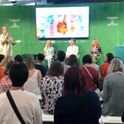 Colour Psychology talk at 100% Design Show, London'19