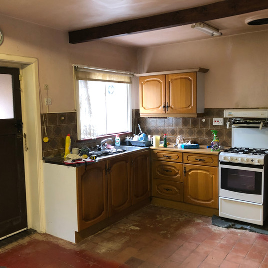 Measured survey for new Kitchen in Exeter