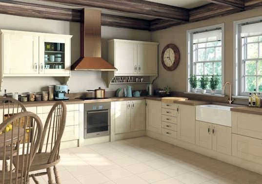 Bright farm style Kitchen - Love the solid wooden worktops
