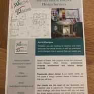 Marketing leaflet - front