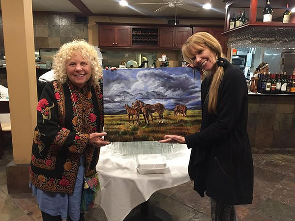 """Wild Horses"" with Deedee and Amy Povah"