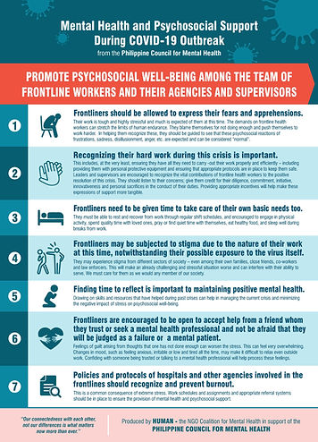 Promote Psychosocial Wellbeing  among te