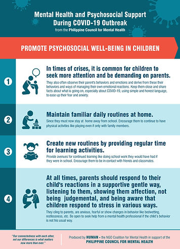 Promote Psychosocial Wellbeing in  Child