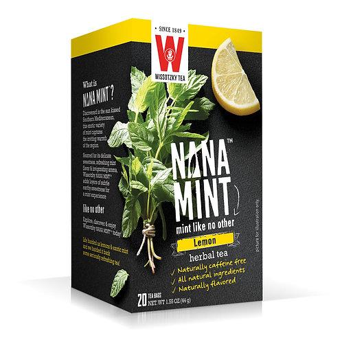 Wissotzky Tea Nana Mint Lemon