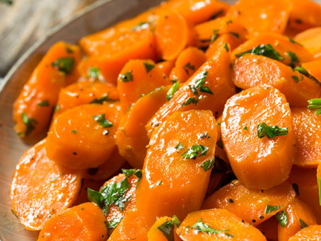 Crown Maple® Maple in a Minute                                                  MAPLE-GLAZED CARROTS