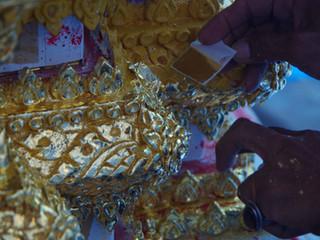 Les doreurs de Wat Arun