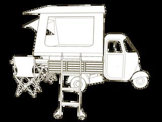 #EQUIPEMENT - La tente de toit - Esquisse