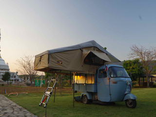 Première nuit de camping thaï