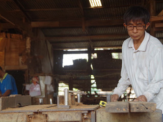 Les menuisiers scieurs d'Ayutthaya