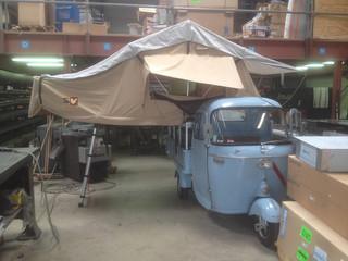 #EQUIPEMENT - Montage de la tente de toit