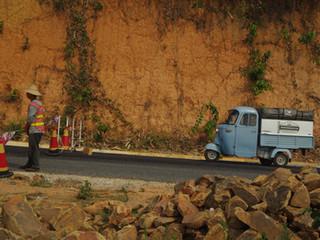 De retour sur les routes thaïlandaises