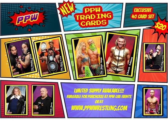 PPW TRADING CARD SET OF (40)