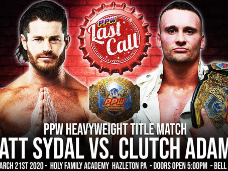 Matt Sydal Set To Battle For Clutch's Title At PPW Last Call