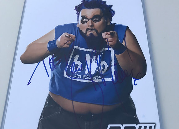 PPW AUTHENTIC AUTOGRAPH BLUE MEANIE #2