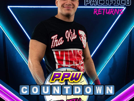 Vinny Pacifico Returns at Countdown