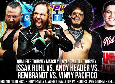 QUALIFIER MATCH FOR THE PPW TV CHAMPIONSHIP