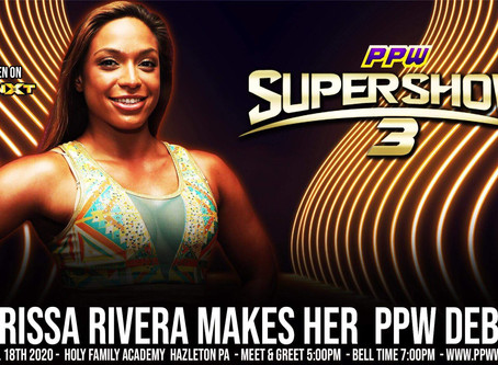 Karissa Rivera Coming to Super Show 3
