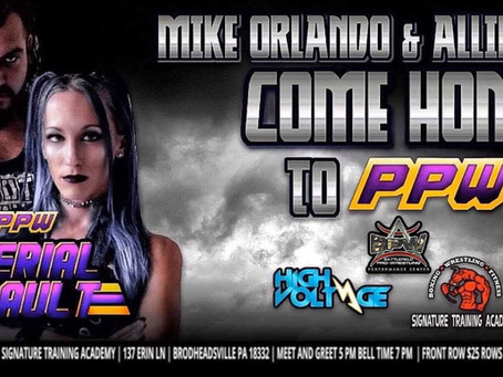 Orlando, Recks Return to PPW in August