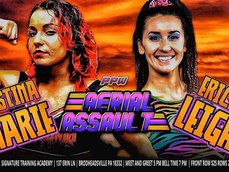 Christina Looks to Rebound Against Debuting Erica Leigh