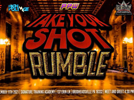 Take Your Shot Rumble Announced for VIII