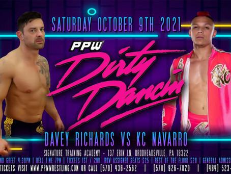 Navarro-Richards II Set for Dirty Dancin'