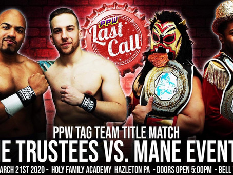 Evander James And Charles Mason Earn Shot At PPW Tag Team Gold At Last Call